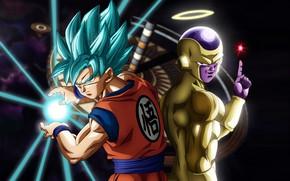 Picture game, alien, anime, martial artist, manga, god, Son Goku, Dragon Ball, strong, Goku, Saiyan, Freeza, …