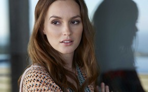 Picture look, portrait, Leighton Meester