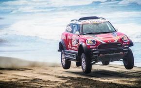 Picture Sand, Red, Sea, Beach, Mini, Dust, Sport, Speed, Race, Rally, Dakar, Dakar, SUV, Rally, The …