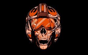 Wallpaper Star Wars, sake, logo, death, pilot, pearls, Rebel Alliance, SW, fighter pilot, Alliance for Restoration ...
