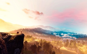 Picture landscape, The Witcher, The Witcher 3, CRIS, World is Ours