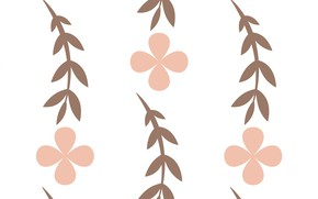 Picture Flower, Leaves, Background, Texture