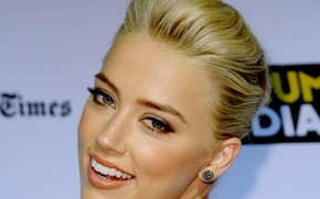 Picture Look, Blonde, Face, Eyes, Actress, Amber Heard, Blonde, Amber Heard, Hairstyle, Face, Actress, Amber Laura …