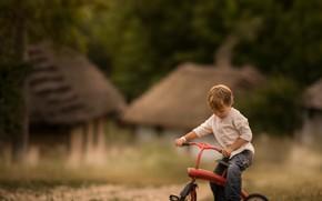 Picture bike, childhood, boy
