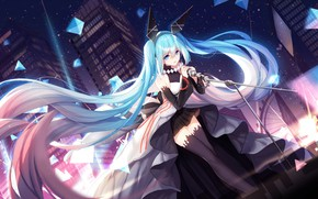 Picture girl, anime, Vocaloid