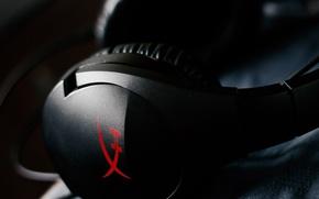 Picture red, Sound, Black, HyperX