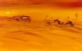 Picture sand, landscape, sunset, desert, home, picture, sugar, Christian Seebauer
