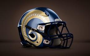 Wallpaper helmet, American football, the game