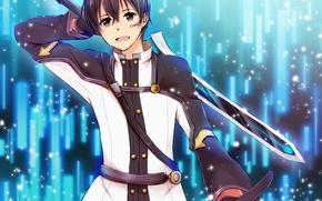 Picture sword, anime, ken, blade, manga, Sword Art Online, Kirito, Kirigaya Kazuto, SAO, light novel, Sword ...