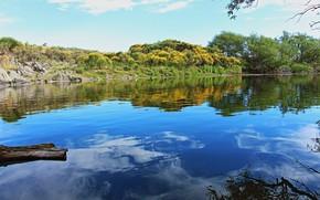Picture landscape, nature, lake