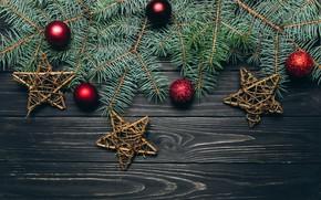 Picture balls, new year, spruce, decoration, sdasda