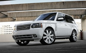 Picture Range Rover, with, color, body, supercharged, HSE, trim, matched