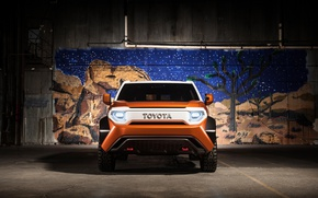 Picture car, Toyota, Toyota FT 4X