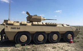 Picture military, weapon, armored, war material, armored vehicle, Pars 8x8, FNSS Pars