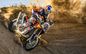 Picture Sand, Sport, Speed, Skid, Motorcycle, Racer, KTM, Bike, Rally, Moto, Motorbike, Dune