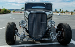 Picture style, retro, lights, Ford, wheel, classic, 1934
