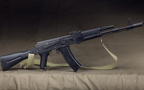 Wallpaper Kalashnikov, weapons, AK-74, machine