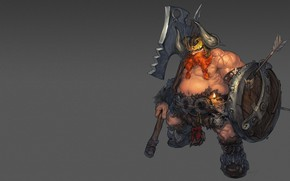 Wallpaper Dwarf, fantasy, dwarf, morry _, art