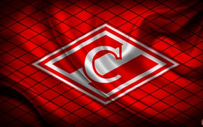 Picture Red, Sport, Flag, Logo, Football, Emblem, Russia, Spartacus, Football Club, Rhombus, Meat, 1922, Red-white, Spartak …