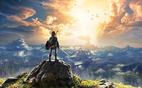Wallpaper Art, Nintendo, The Legend of Zelda, Switch, The Legend of Zelda: Breath of the Wild, ...