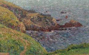 Picture landscape, picture, Bay, Gustave Loiseau, Gustave Loiseau