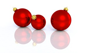 Picture balls, toys, Christmas, New year, Christmas decorations