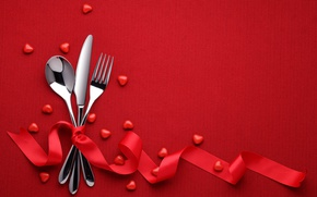 Picture red, love, heart, background, romantic, valentine's day