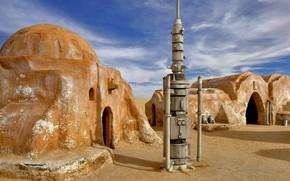 Picture Star Wars, the scenery, Tunisia, El JERID