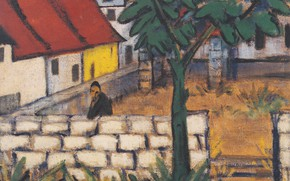 Picture Expressionism, Otto Mueller, ca1916, Bauer'd hoped in France