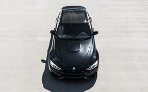 Wallpaper BMW, Black, Roof, F83
