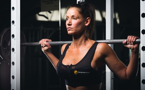 Picture female, workout, fitness, gym, Deanna