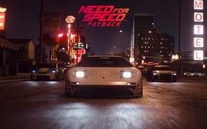 Picture machine, night, the city, Need for Speed: Payback