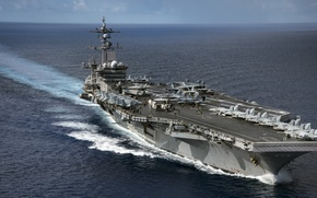 Picture USS Carl Vinson, CVN 70, Nimitz-class aircraft carrier