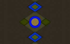 Picture Wallpaper, dark, symmetry