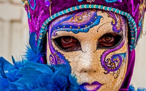 Picture face, holiday, mask, carnival
