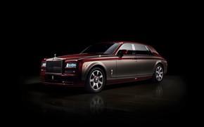 Picture Phantom, black background, Rolls Royce, Pinnacle Travel