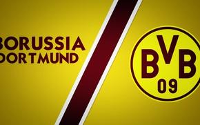 Picture wallpaper, sport, logo, football, Borussia Dortmund