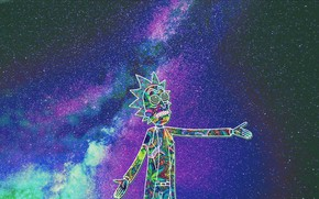 Picture Music, Space, Pink Floyd, Art, Rock, Rick, Rick Sanchez, Rick Sanchez, Richard Sanchez
