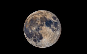 Picture surface, the moon, Earth satellite