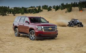 Picture 2018, SUV, Sand, SUV, Tahoe, Chevroet