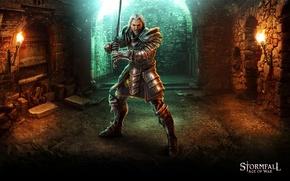 Picture sword, game, armor, ken, warrior, balde, Storm case, Stormfall: Age Of War