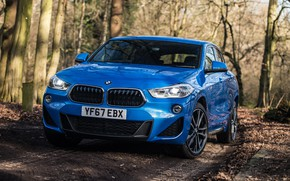 Picture front view, 2018, crossover, M Sport, BMW X2, xDrive20d