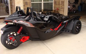Picture beautiful, comfort, hi-tech, Polaris, Slingshot, technology, sporty, 002, tricycle