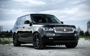 Picture Range Rover, with, color, Supercharged, exterior, trim, matched