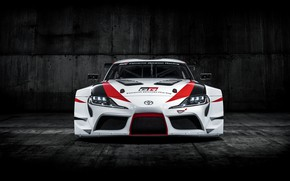 Picture auto, coupe, Toyota, 2018, GR Supra Racing Concept