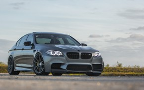 Picture BMW, Gray, F10, Sight