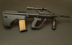 Picture weapons, machine, weapon, AUG, Steyr, assaul rifle