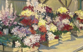 Picture flowers, picture, Alexander Altman, Flower shop