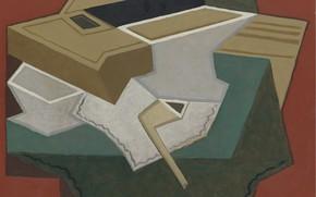 Picture tube, 1926, Juan Gris, White napkin