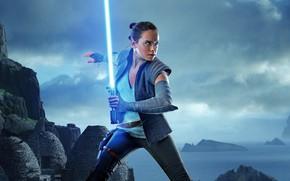 Wallpaper Sci-Fi, Ligthning, Hux, Action, The, Finn, Kylo Ren, Carrie Fisher, Luke, Star Wars: The Last ...